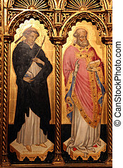 Saint Peter and Saint Nicholas