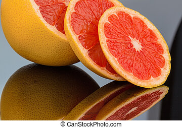 mirroring an orange. representative photo of healthy...