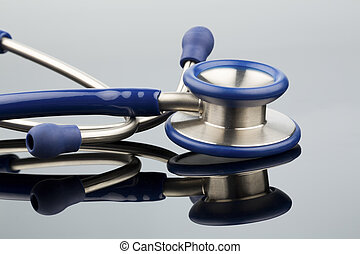 stethoscope against white background, photo icon for the...