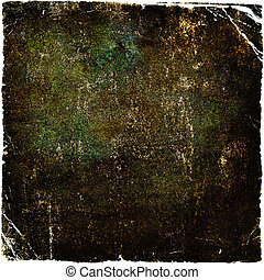 Highly detailed brown grunge background or paper with vintage texture