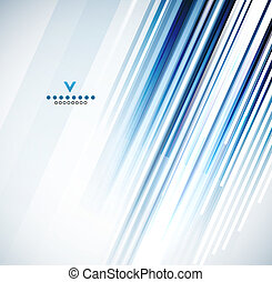 Straight lines design template. Vector abstract background