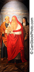Saint Joseph, Jerome and Elizabeth - Saint Joseph, Saint...