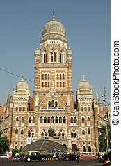 The Municipal Corporation Building ( Brihanmumbai Municipal...