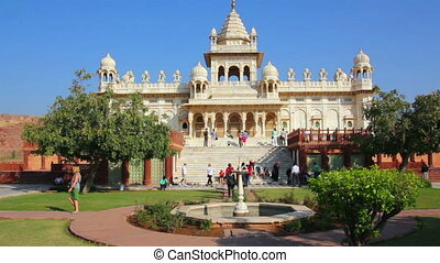 Jaswant Thada mausoleum in Jodhpur India