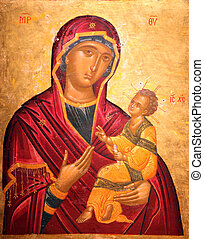 Madonna and Child, Our Lady of the Angels