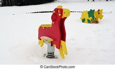 playground toy swing