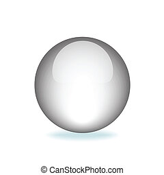 White Orb - White Orb Graphic vector eps10