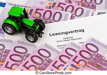 lease agreement for new tractor