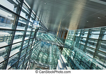 Architectural abstract in Arlanda airport, Stockholm