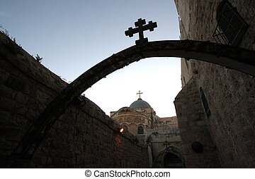 Church Holy Sepulchre, Jerusalem - Church Of The Holy...