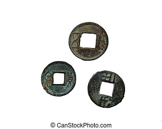 Ancient Chinese coins II century BC - II century AD from my...