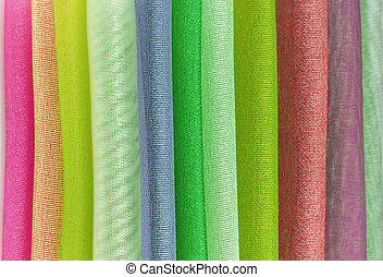 organza color selection