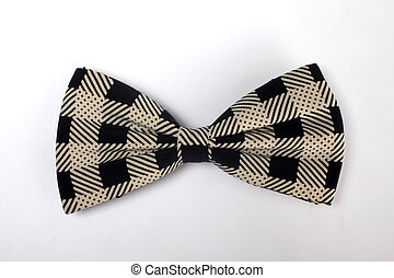 Bow tie isolated on the white