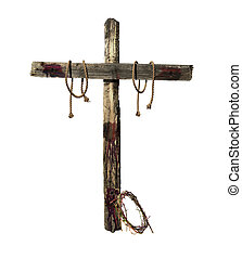 Old Bloody Cross and Crown of Thorns