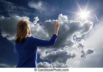 Aire libre, adoración