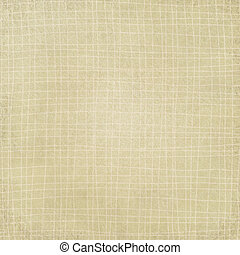 Beige plaid pattern  with  waves