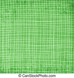 plaid background in green