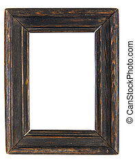 Old wooden frameworks. It is possible to insert a photo into...