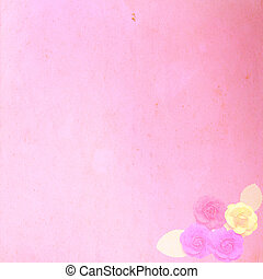 Old pink paper texture