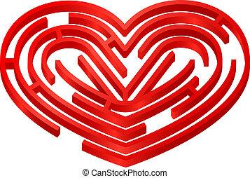 Love maze