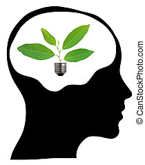 Think green ndash; human mind - Think green – human mind