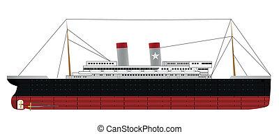 steam ship