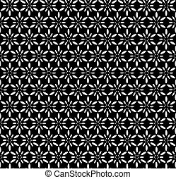 Seamless decorative pattern. Vector art.