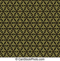 Seamless decorative pattern. Vector
