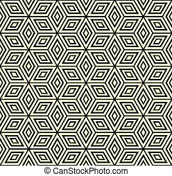 Seamless geometric pattern - Seamless geometric pattern with...