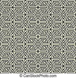 Seamless geometric pattern. - Seamless geometric pattern...