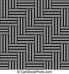 Seamless geometric pattern - Seamless geometric herringbone...