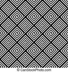 Seamless geometric texture. Vector art.