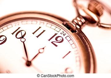Vintage clock - Elegant vintage pocketwatch