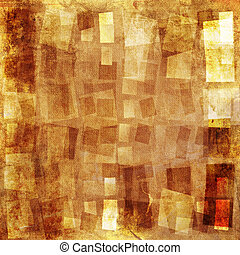 Textured background - Orange textured grunge canvas...