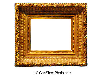Antiq frame - photography, isolated, modern, object, retro,...