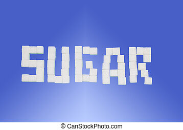 Sugar - white, sweet, unhealthy, color, sugar, image, food,...