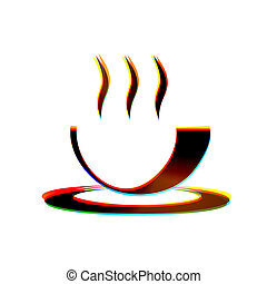 Vector abstract icon on white background Eps10