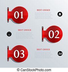 Vector infographic design Eps10