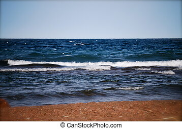 Lake Superior Shoreline - Crashing waves of Lake Superior...