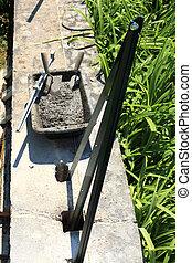 cement mortar trowel