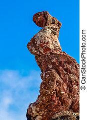 Rock formation - Strange volcanic rock formation