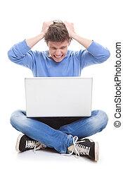 laptop frustration