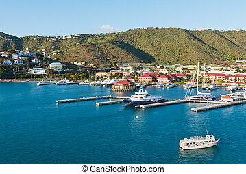 Charlotte Amalie - Looking out at Charlotte Amalie, St....