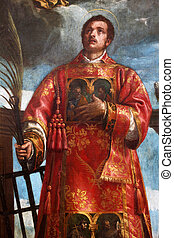 St Lawrence of Rome