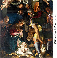 Nativity, Adoration of the shepherds