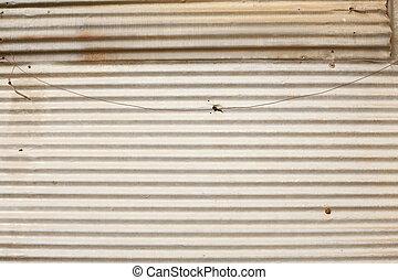 galvanized iron roof