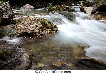 River with rocks in Macedonia