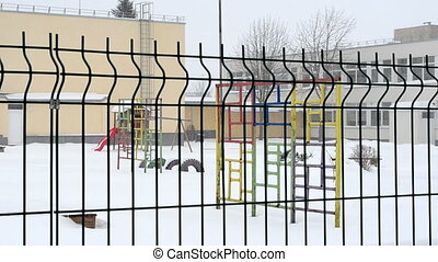 preschool snow fall - playground and other preschool toys in...