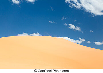 Sand dune - Scenic of a desert landscape with a sand dune
