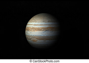 Jupiter - 3D High Quality Model Of Planet Jupiter